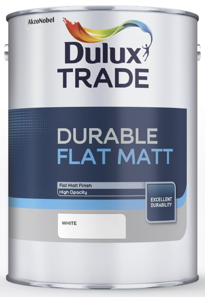 Dulux Trade Durable Flat Matt Custom Mixed Colours